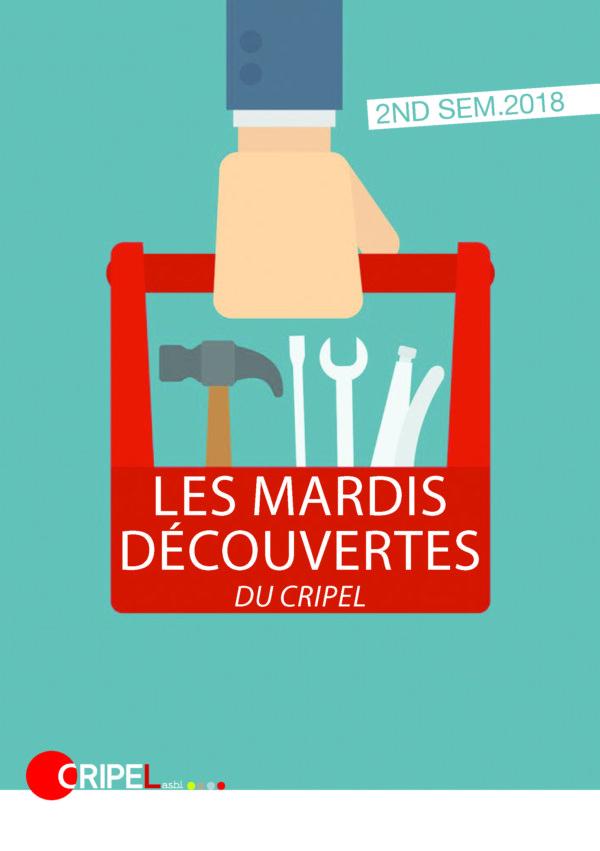 Mardi découverte du CRIPEL : Présentation de l'outil pédagogique de Cultures & Santé - 18 septembre 2018