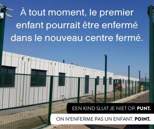 Les premiers enfants sont détenus dans le centre fermé, malgré la mobilisation