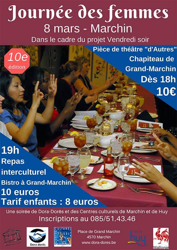 10e soirée au profit de l'asbl Dora dorës à Marchin - 8 mars