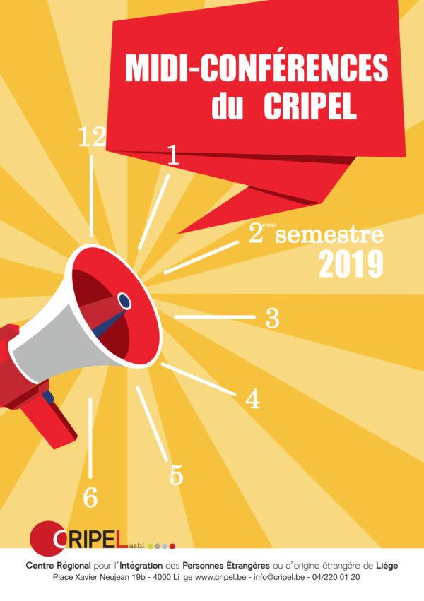 """Midi Conférence """"ETRE MIGRANT ET MALADE, QUEL ACCOMPAGNEMENT ?"""" - 25 octobre (11h30)"""