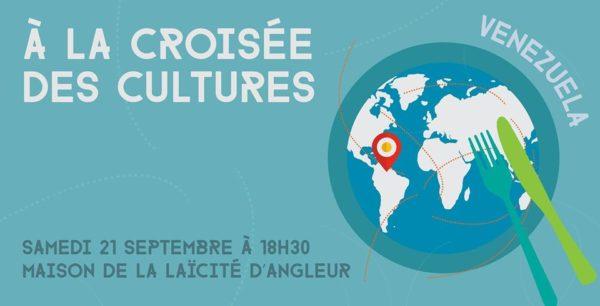 """A la Croisée des Cultures """"Le Venezuela"""" - 21 septembre (18h30)"""