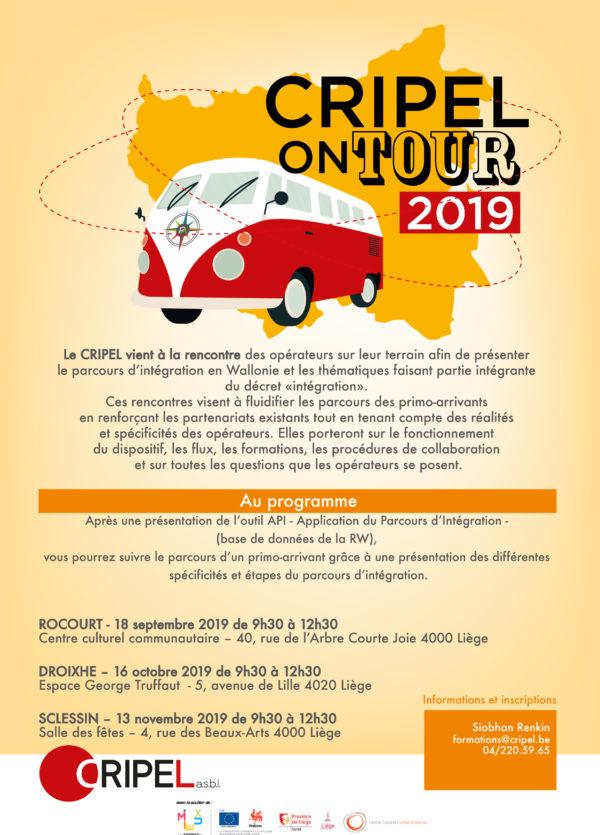 CRIPEL ON TOUR 2019