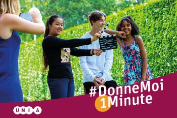 Concours UNIA #DonneMoi1Minute : Réalise une campagne contre le racisme