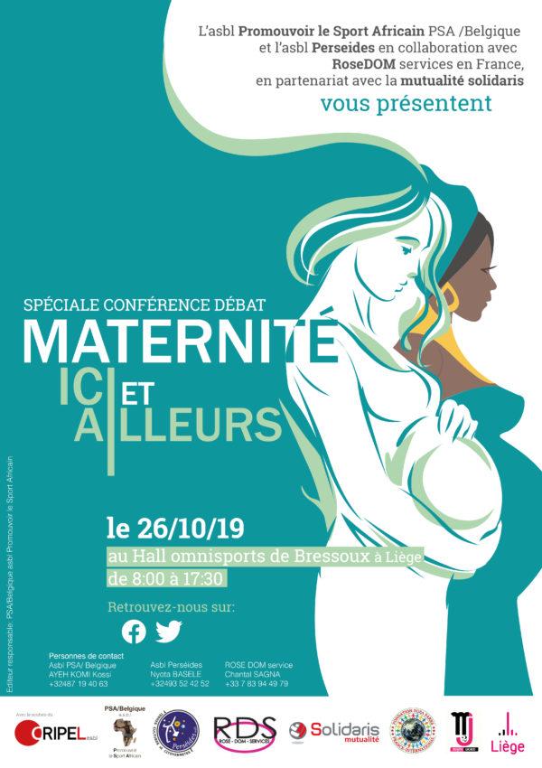 Conférence-débat : Maternité ICI et ALLEURS - le 26 octobre (8h00 - 17h30)