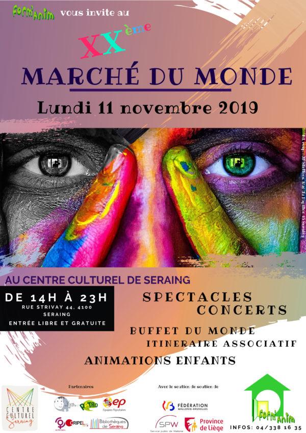 Marché du Monde - 11 novembre (à partir de 14h)
