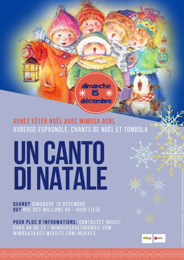 Noël avec Mimosa ASBL - 15 décembre