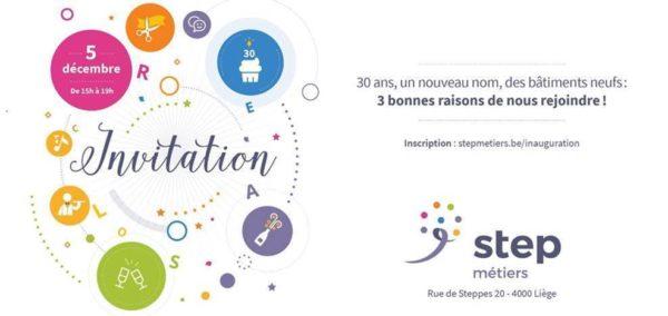 """Inauguration : Créasol fête ses 30 ans et change de nom """"Step métier"""" - 5 décembre (15h)"""