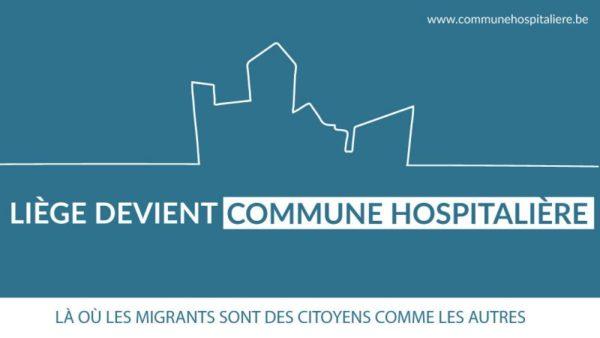 """Liège """"ville hospitalière"""" 2 ans après, quel bilan et quelles perspectives ? - Le 12 décembre (18h30)"""
