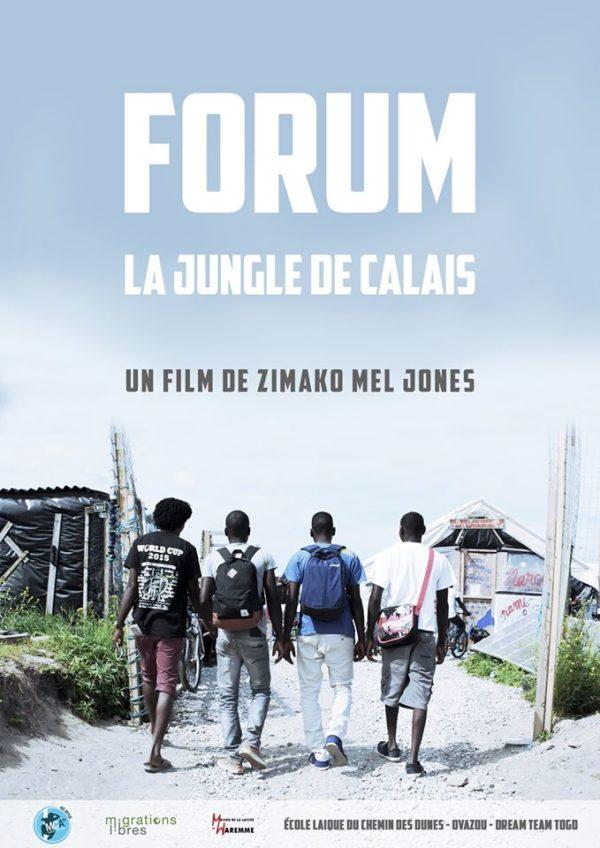 """Projection Film """"FORUM, la jungle de Calais"""" - 24 janvier (19h)"""