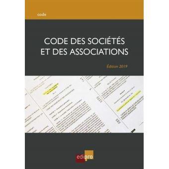 Formation - De la loi sur les associations au code des sociétés et des associations : ce qui change ? ce qui reste ?