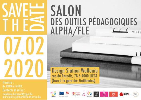 Salon des outils pédagogiques ALPHA/FLE - le 7 février (10h-16h)