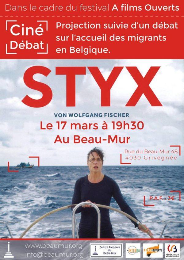 Ciné-débat sur l'accueil des migrants avec le film STYX - le 17 mars (19h30)
