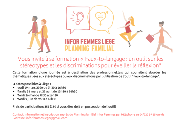 """Formation """"Faux-to-langage"""""""