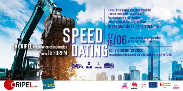 Speed Dating - Les 17 et 18 juin